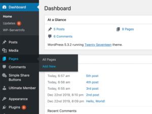 Как настроить блог на домашней странице WordPress?