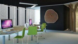 Подключение функционального офиса в небольшом помещении