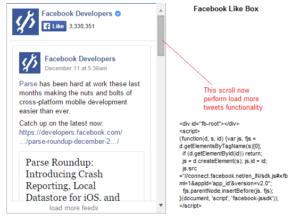 «Facebook Like Box» — интеграция и настройка CSS