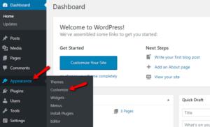 Настройте внешний вид вашей темы WordPress