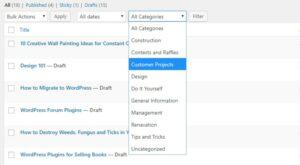Как быстро изменить порядок постов и страниц в WordPress?